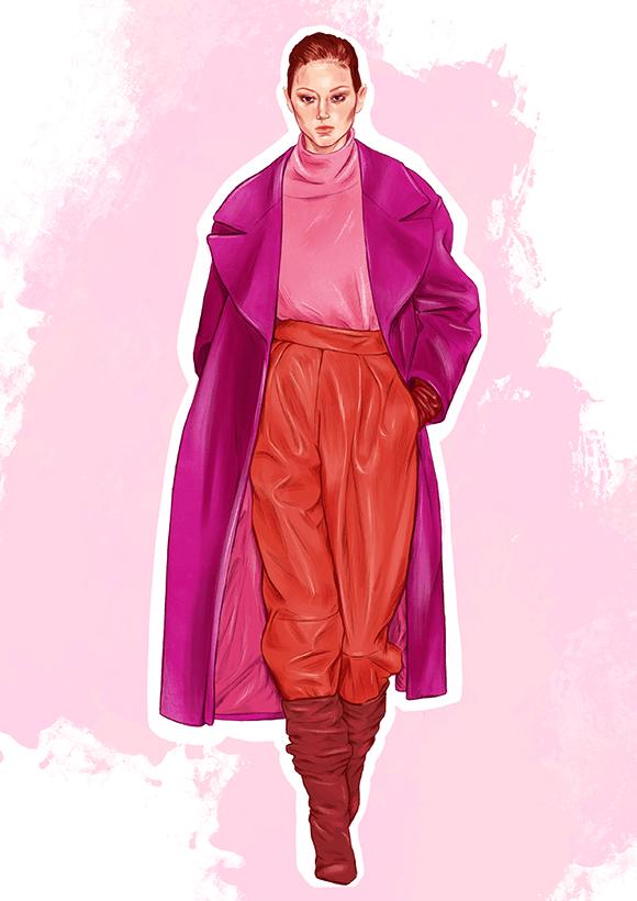 Alberta_Ferretti Fashion Illustration