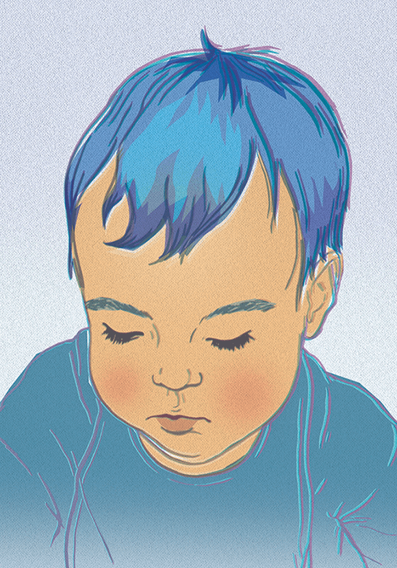 Baby Boy illustration