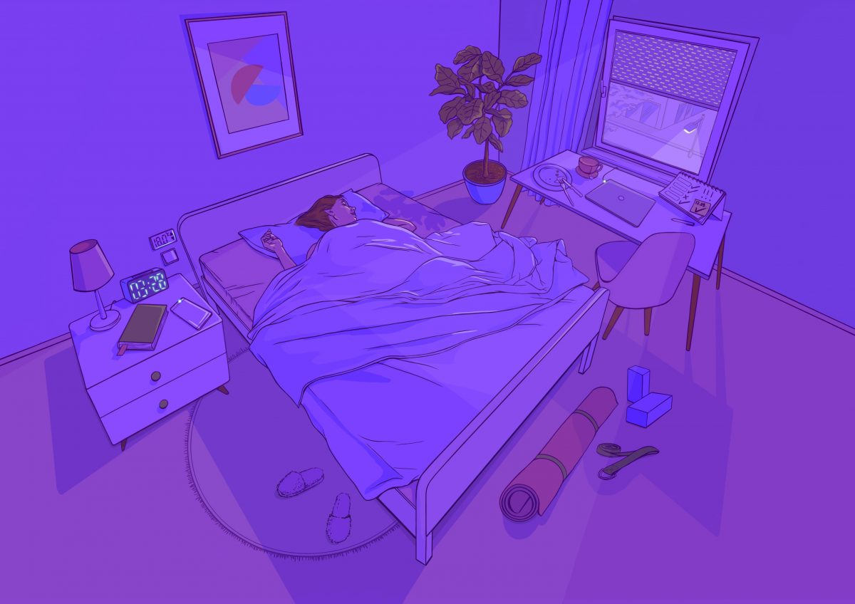magazine illustration healthcare