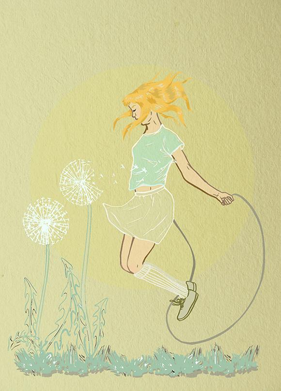 Series of illustration Girls