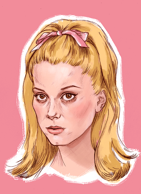 Catherine Deneuve Illustration