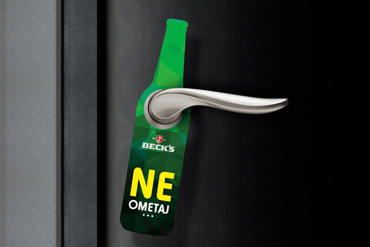 Door hangers for Becks