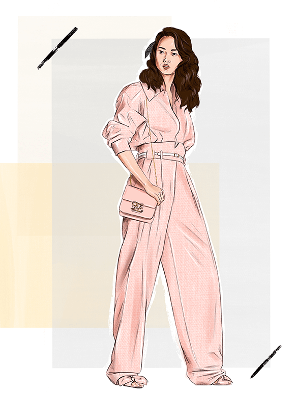 Fendi Fashion Illustration