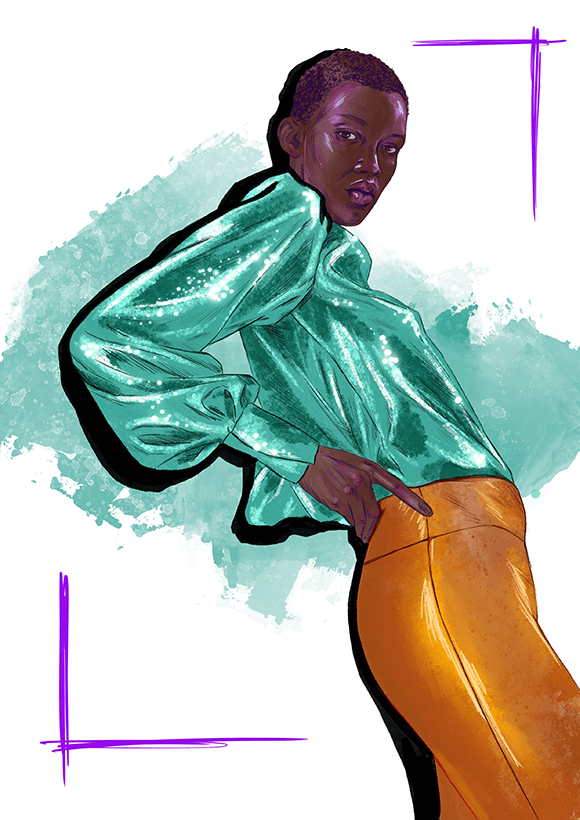 Galvan Fashion Illustration