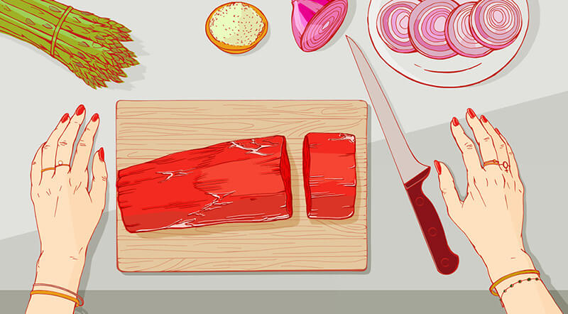 Illustrations for ChefsFeed 02
