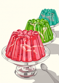 Jelly Illustration