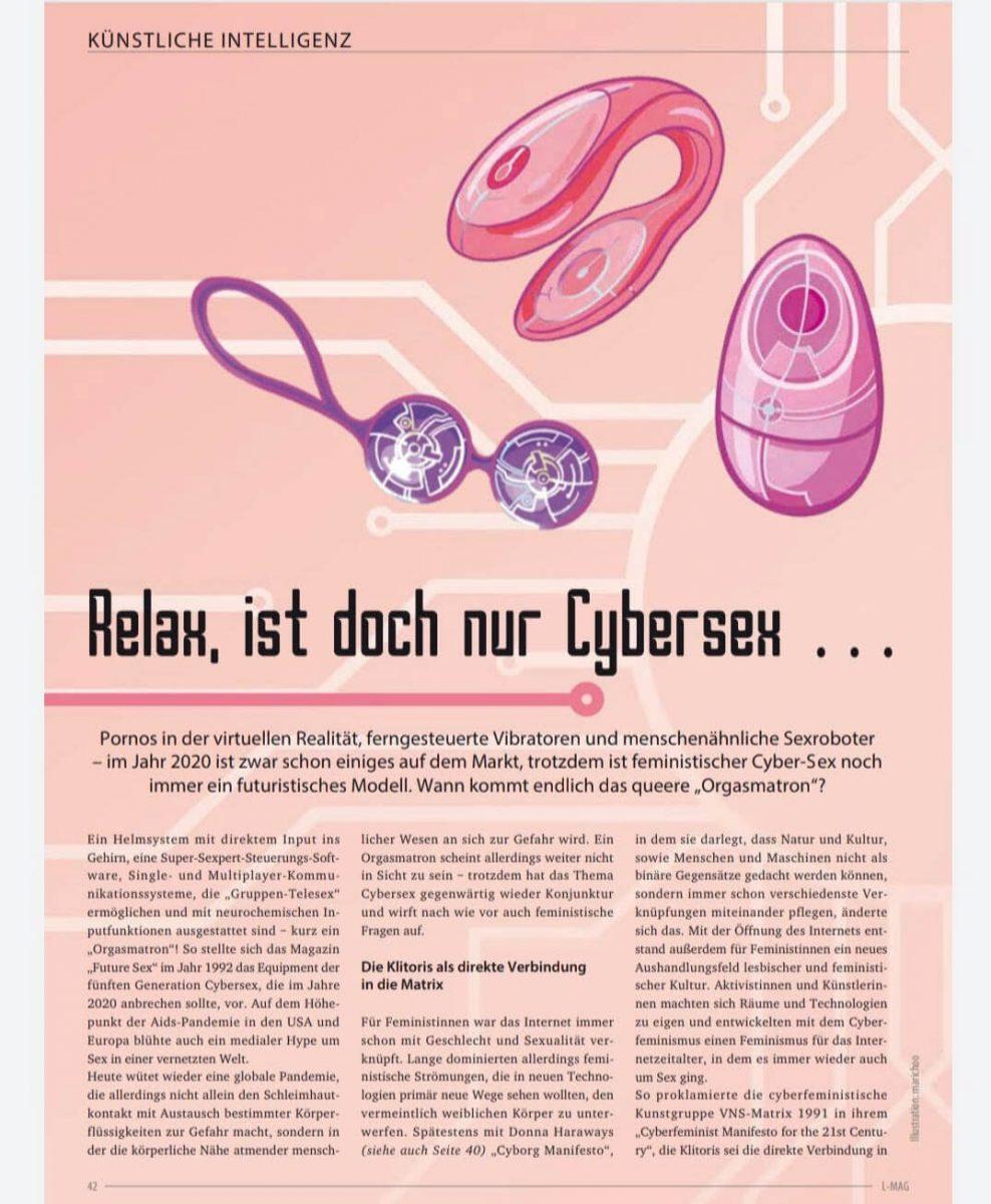 L-Mag Print 05 editorial illustration