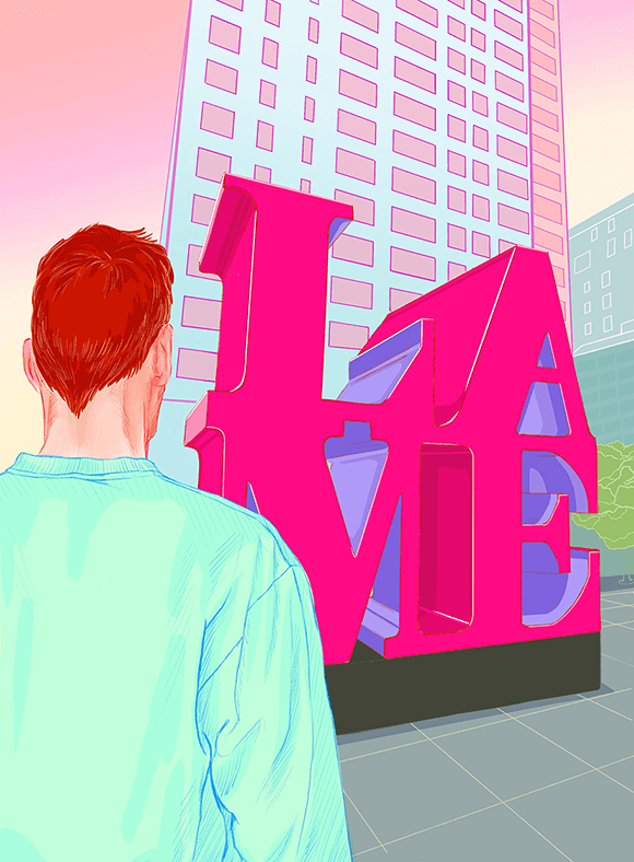 Lame Love Illustration