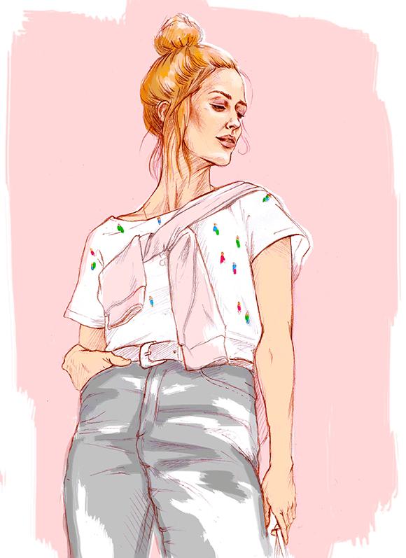 Pia Illustration