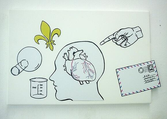 Play & Go Art Installation Illustration