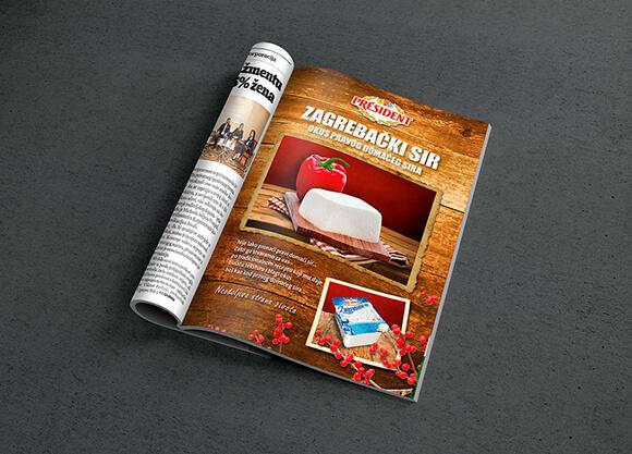 President Ad 01 Graphic Design