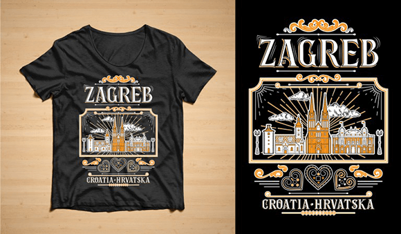 T-Shirt ZG 01 Graphic Design