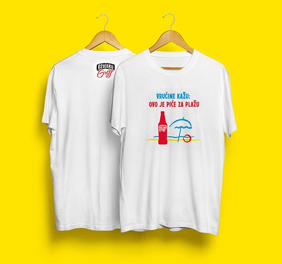 T-Shirt Ozujsko Graphic Design