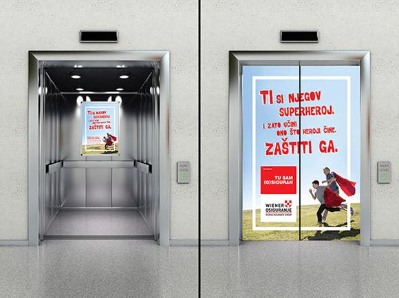 Vienna Insurance Hero 02 Graphic Design