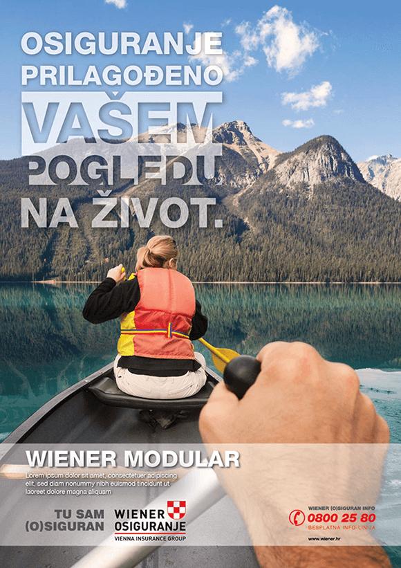 Vienna Insurance Graphic Design
