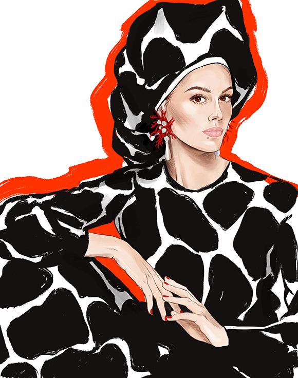Vogue Cover Illustration